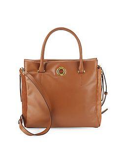 Sergio Rossi | Halston Leather Suede Crossbody Bag