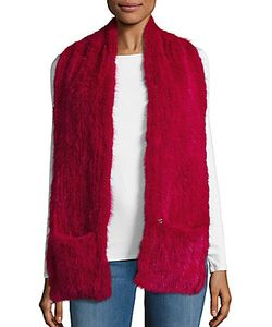 Yves Salomon | 2-Pocket Fur Tail Scarf