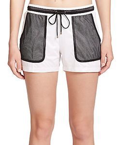 Monreal London | Mesh-Pocket Drawstring Shorts
