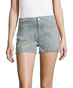 J Brand   Mila Two-Pocket Denim Shorts