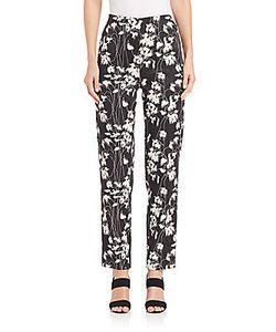 Donna Karan | Printed Slim-Fit Pants