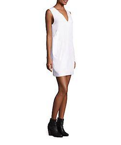 Rag & Bone | Phoebe Back Cutout Shift Dress