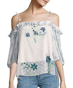 See by Chloé | Asymmetric Off-The-Shoulder Top