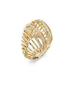 Alexis Bittar | Crystal Cutout Ring