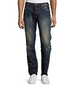 Prps | Salute Low-Rise Straight-Leg Jeans