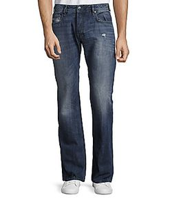 Diesel | Zatiny Lightly Faded Straight Leg Jeans