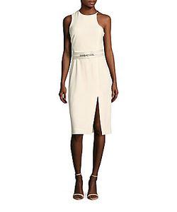 Halston | Solid Sleeveless Dress