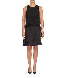 Derek Lam 10 Crosby   Empire Flounce Multi-Layer Dress