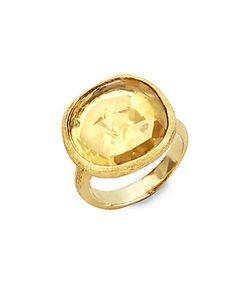 Marco Bicego | Jaipur Lemon Citrine 18k Ring