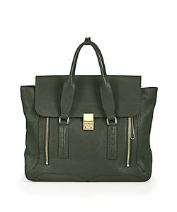 3.1 Phillip Lim | Pashli Large Leather Satchel