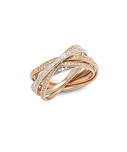 Effy | Diamond 14k Rose Ring