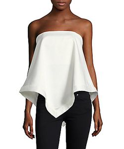 C/Meo | Sunset Soon Asymmetrical Crepe Top