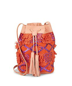Antik Batik | Sequined Bucket Bag