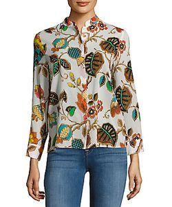 Alice + Olivia | Eloise Flora Fauna Printed Shirt