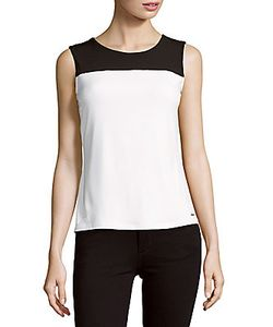 Calvin Klein | Sleeveless Colorblock Top