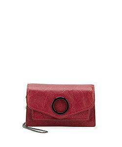 Halston Heritage | Halston Crossbody Leather Shoulder Bag