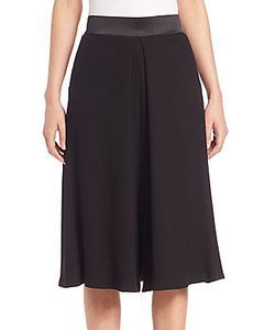 Public School | Textured Silk Blend Culottes
