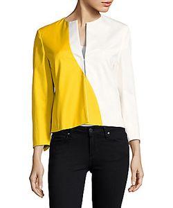Akris | Split-V Colorblock Jacket