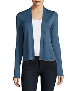 Akris   Silk Open-Front Jacket