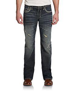 Affliction   Cooper Cutout Vault Flap Pocket Jeans
