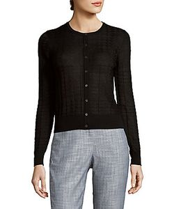 M Missoni | Wool-Blend Button-Front Cardigan