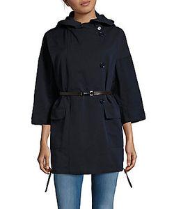 Max Mara   Buttoned Rain Overcoat