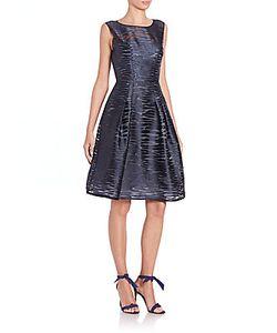 Carolina Herrera | Sand Wave Fil Coupe Dress