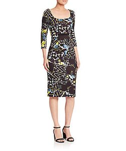Erdem | Tess Printed Jersey Dress