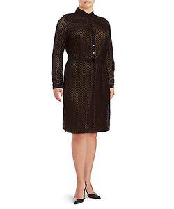 Akris | Long-Sleeve Snap-Button Dress