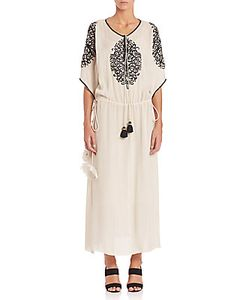 Figue | Naya Embroidered Silk Dress