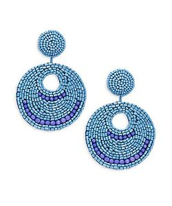 Kenneth Jay Lane | Bead Dangle Earrings