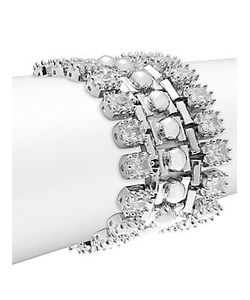 Eddie Borgo | Dome Estate Crystal Bracelet