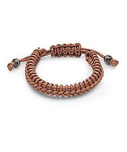 Stephen Webster   Woven Leather Bracelet