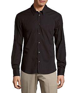 Alexander McQueen | Solid Cotton-Blend Shirt