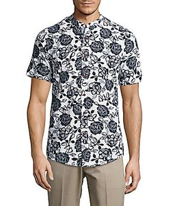 Report Collection | -Print Slim-Fit Shirt