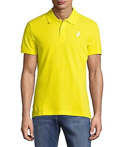 Versace | Logo Detailed Cotton Polo