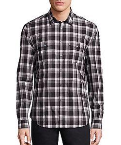 John Varvatos | Cotton Plaid Shirt