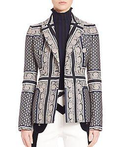 Altuzarra   Printed Long Sleeve Jacket
