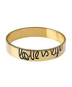 Diane von Furstenberg | Love Is Life Mille Goldtone Bracelet