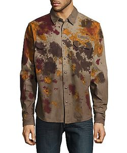 Prps | Economy Printed Casual Button-Down Shirt
