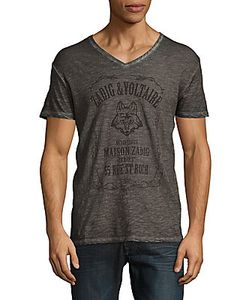 Zadig & Voltaire | Terak Wolf Logo T-Shirt