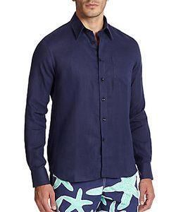 Vilebrequin | Linen Button-Down Shirt
