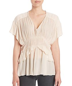 Iro | Giselle Ruched Blouse