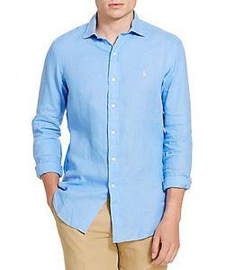 Ralph Lauren Purple Label | Linen Sport Shirt