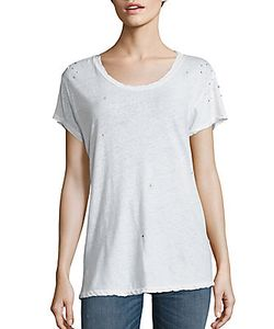 Current/Elliott | Faux Diamond Embellished Top