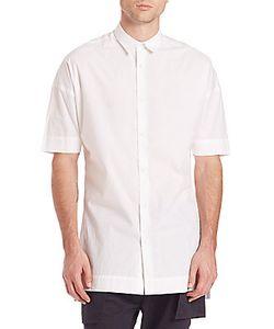 Zanerobe   Elongated Short Sleeve Shirt