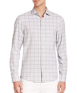 Michael Kors | Isaac Slim-Fit Tartan Shirt