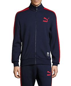 Puma | Cotton-Blend High-Neck Jacket