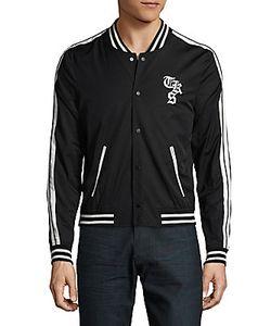 The Kooples | Striped Varsity Jacket