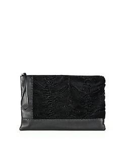 Marni | Lamb Fur Leather Wristlet